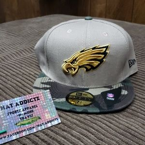 Philadelphia Eagles New Era 59fifty fitted hat